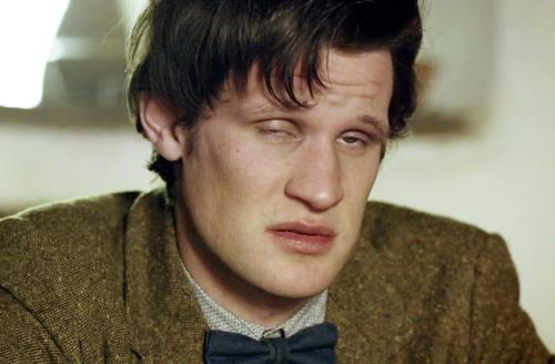 Matt Smith Funny Derp tired