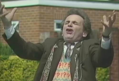 Sylvester McCoy doctor who derp