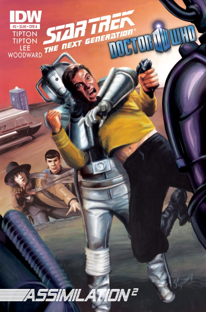 A Look at Doctor Who / Star Trek Assimilation 2 Issue 3!