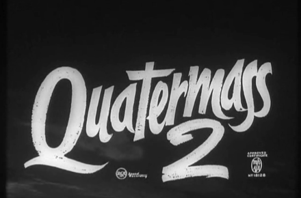 The title card