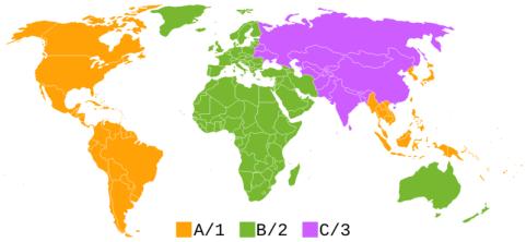 Blu-Ray Regions