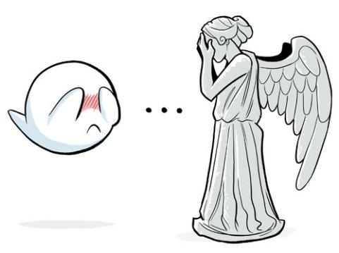 doctor-who-mario-bros-weeping-angel-boo