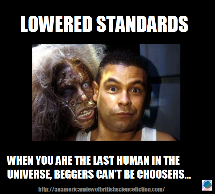 The Monday Meme: Lowered Standards (1/6)