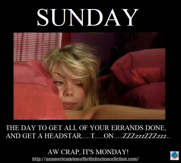 The Monday Meme: Sunday (1/6)