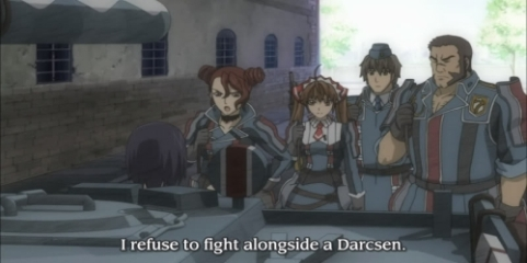Racism is somewhat unsettling in the game. Darcsens are seen as unholy inferir people to many people in the game, even protagonist characters.