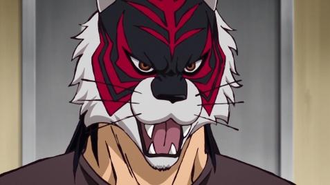 tiger the dark