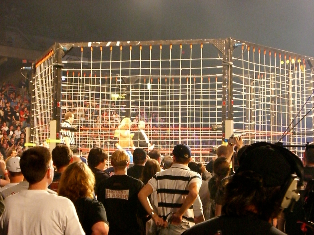 Throwback Thursday – That time my friends and I attended a TNA wrestling PPV in St. Louis and met LuchaRedneck.