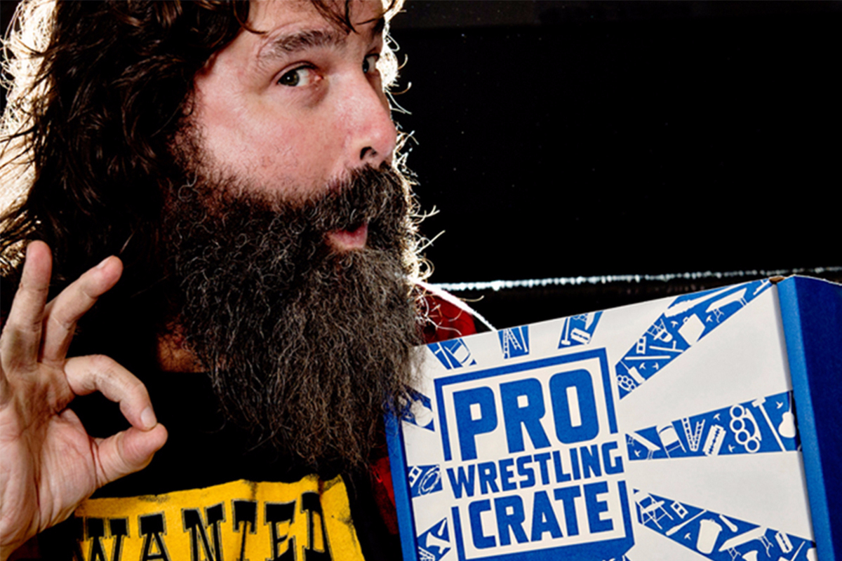Pro Wrestling Crate July 2018 Unboxing / Review
