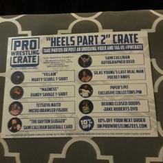 Pro Wrestling Crate july 2018 2
