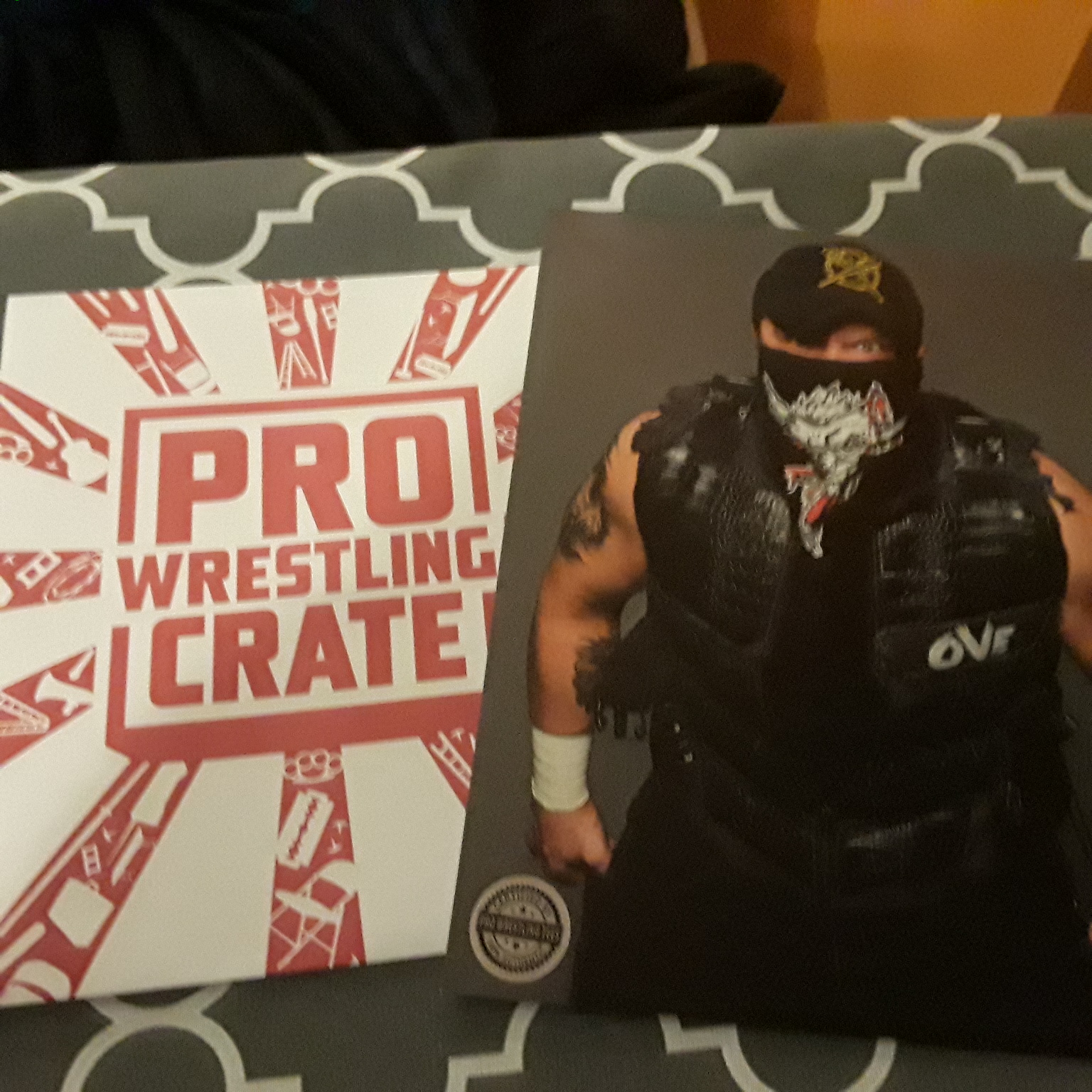 Pro Wrestling Crate july 2018 5