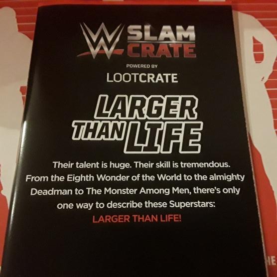 WWE Slame Crate 8