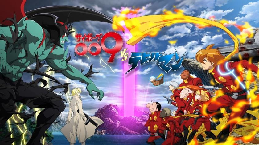 Cyborg 009 VS Devilman (2015) OVA Ep 1 – Arcadia Pod