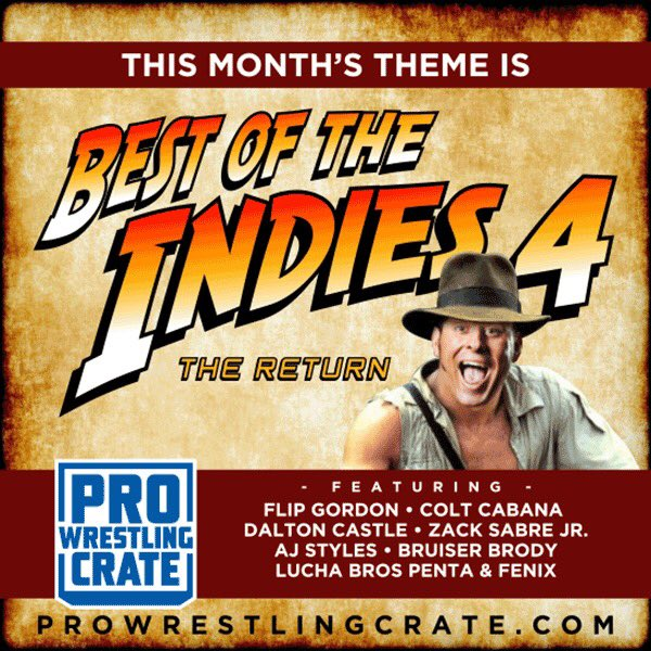 pro wrestling crate best of indies 4