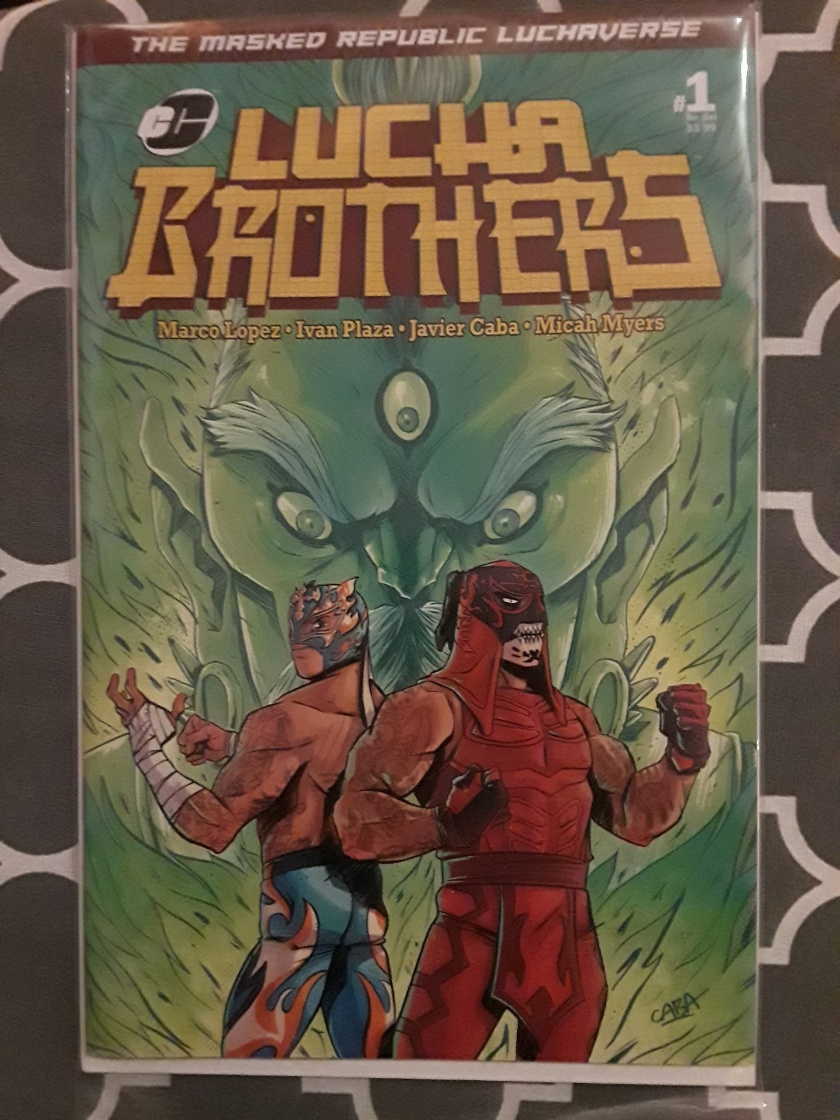 8ae211be2 Comic Book: The Masked Republic Luchaverse: Lucha Brothers #1 Variant Cover
